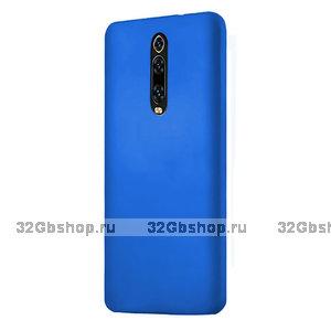 Голубой пластиковый чехол накладка для Xiaomi Mi 9T / 9T Pro