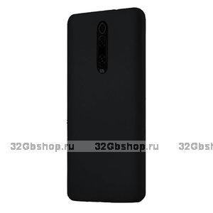 Черный пластиковый чехол накладка для Xiaomi Mi 9T / 9T Pro