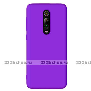 Фиолетовый силиконовый чехол для Xiaomi Mi 9T / 9T Pro
