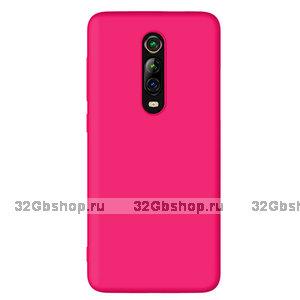 Розовый силиконовый чехол для Xiaomi Mi 9T / 9T Pro