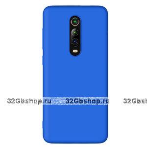 Синий силиконовый чехол для Xiaomi Mi 9T / 9T Pro