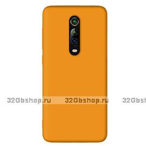 Оранжевый силиконовый чехол для Xiaomi Mi 9T / 9T Pro