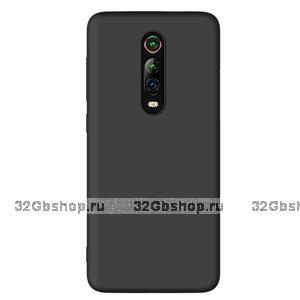 Черный силиконовый чехол накладка для Xiaomi Mi 9T / 9T Pro