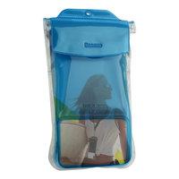 Чехол водонепроницаемый Baseus универсальный Safe Airbag Waterproof Case (4,5 - 7) Прозрачно синий