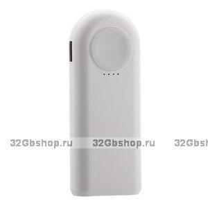 Аккумулятор внешний универсальный - беспроводное зарядное для Apple Watch COTEetCI PB2 5200 mAh Белый
