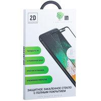 """Стекло защитное Innovation 2D для iPhone XS Max (6.5"""") полная проклейка ,черная рамка"""