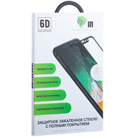 """Стекло защитное Innovation 6D для iPhone XS Max (6.5"""") Черное"""