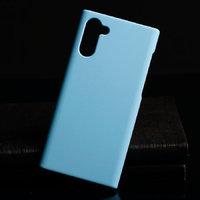 Голубой пластиковый чехол для Samsung Galaxy Note 10