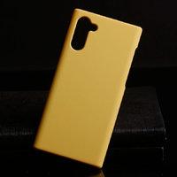 Желтый пластиковый чехол для Samsung Galaxy Note 10