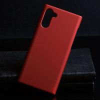 Красный пластиковый чехол для Samsung Galaxy Note 10