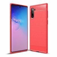 Красный защитный силиконовый чехол для Samsung Galaxy Note 10