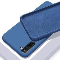 Синий силиконовый чехол для Samsung Galaxy Note 10