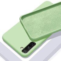 Зеленый силиконовый чехол для Samsung Galaxy Note 10
