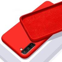 Красный силиконовый чехол для Samsung Galaxy Note 10