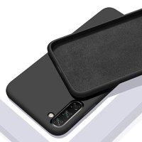 Черный силиконовый чехол для Samsung Galaxy Note 10
