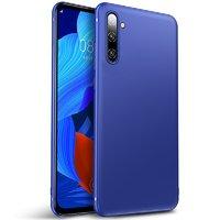 Синий тонкий силиконовый чехол для Samsung Galaxy Note 10