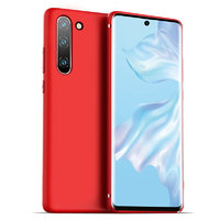 Красный тонкий силиконовый чехол для Samsung Galaxy Note 10