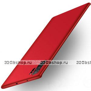 Красный пластиковый чехол для Samsung Galaxy Note 10+ Plus