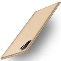 Золотой пластиковый чехол для Samsung Galaxy Note 10+ Plus