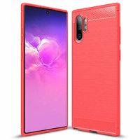 Красный защитный силиконовый чехол для Samsung Galaxy Note 10+ Plus