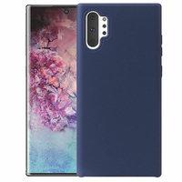 Синий силиконовый чехол для Samsung Galaxy Note 10+ Plus