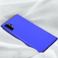 Синий прозрачный силиконовый чехол для Samsung Galaxy Note 10+ Plus