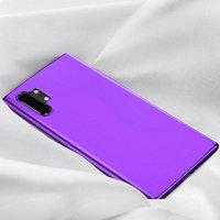Фиолетовый прозрачный силиконовый чехол для Samsung Galaxy Note 10+ Plus