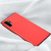 Красный прозрачный силиконовый чехол для Samsung Galaxy Note 10 Plus