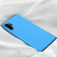 Голубой прозрачный силиконовый чехол для Samsung Galaxy Note 10 Plus