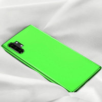 Зеленый прозрачный силиконовый чехол для Samsung Galaxy Note 10 Plus