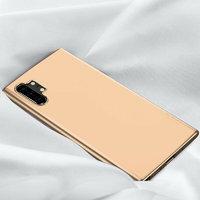 Золотой прозрачный силиконовый чехол для Samsung Galaxy Note 10 Plus