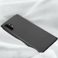 Черный прозрачный силиконовый чехол для Samsung Galaxy Note 10+ Plus