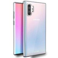 Прозрачный силиконовый чехол для Samsung Galaxy Note 10+ Plus