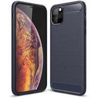 Синий защитный силиконовый чехол для iPhone 11 Pro