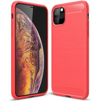 Красный защитный силиконовый чехол для iPhone 11 Pro