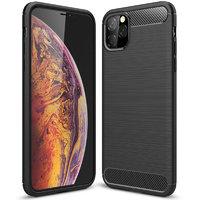 Черный защитный силиконовый чехол для iPhone 11 Pro