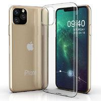 Тонкий прозрачный силиконовый чехол для iPhone 11 Pro