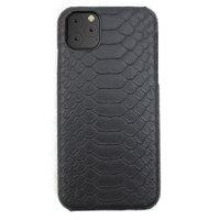 Черный чехол из кожи питона для iPhone 11 Pro
