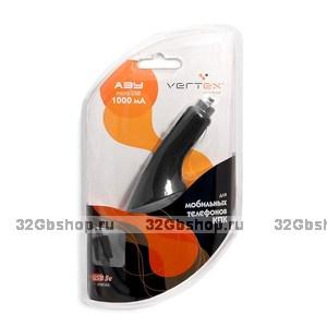 Автомобильное зарядное устройство для micro USB 1000mAh Vertex