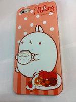 Накладка MOLANG Rabbit для iPhone 5 / 5s / SE заяц и печеньки