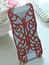 Накладка Chrome Butterfly Case Red для iPhone 5 / 5s / SE красная бабочка