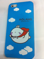 Накладка MOLANG Rabbit для iPhone 5 / 5s / SE заяц в облаках