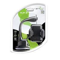 Автомобильный держатель для телефона на усиленной гибкой штанге Vertex Clip 3