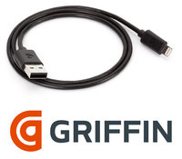 Кабель Lightning to USB Griffin для iPhone 5 GC36631