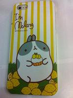 Накладка MOLANG Rabbit для iPhone 5 / 5s / SE заяц и лимоны