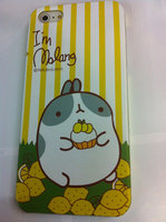 Накладка MOLANG Rabbit для iPhone 5 / 5s / SE заяц и лимоны