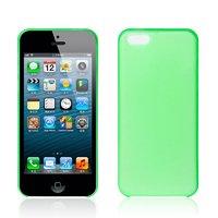 Ультратонкий чехол накладка для iPhone 5c зеленый