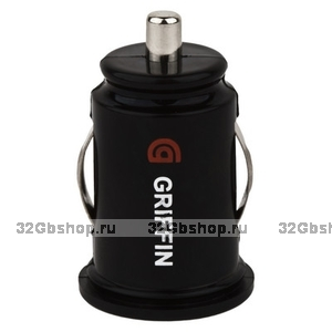 Автомобильный блок питания для iPhone 5 / 5s / 6s / 6 / iPad mini - Griffin PowerJolt Dual Universal Micro - 2.1A
