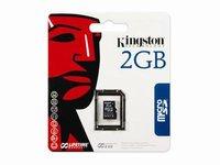 Карта памяти Kingston microSD 2 Gb