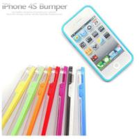 Бампер Vser для iPhone 4/4S синий